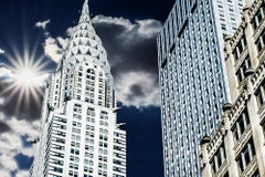 Crown of Chrysler Building with Sunburst, Manhattan