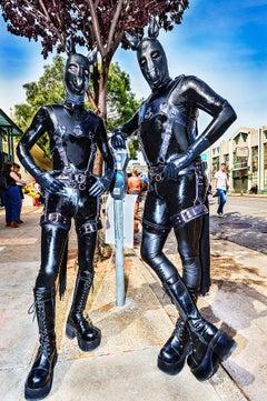 Gay San Francisco , Folsom Street Fair. BDSM Leather  LGBTQ FETISH
