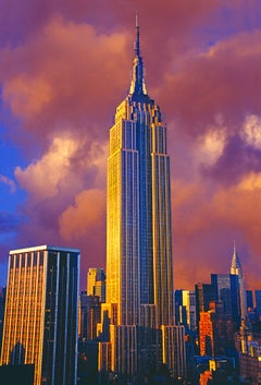 Golden Empire State Building, New York City