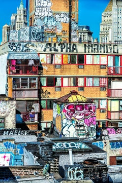 Graffiti City. New York