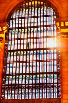Grand Central Terminal  Cathedral Window in Golden Light