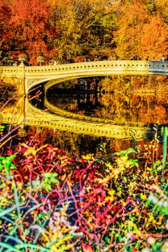 Autumn colors - If Monet photographed Central Park's Bow Bridge?