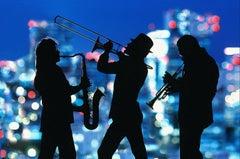Jazz Musicians:  Night Blue City Lights