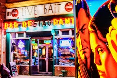 Live Bait New York, New York at Night  street scene