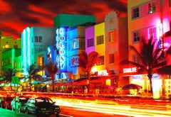 Miami Beach,  Art Deco South Beach Ocean Drive,