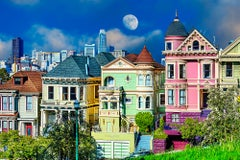 Painted Ladies Victorian and Edwardian houses of San Francisco