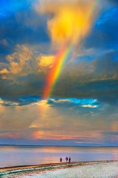 Rainbow Through The Clouds, East Hampton New York