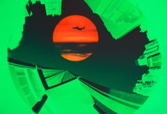 Red Sun. Green Skyline New York, Nikon Advertising Campaign