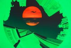 Red Sun. Green Skyline New York, Nikon Advertising Campaign