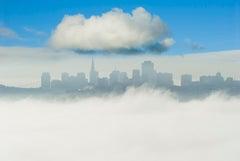 San Fransico Skyline with One Big Cloud