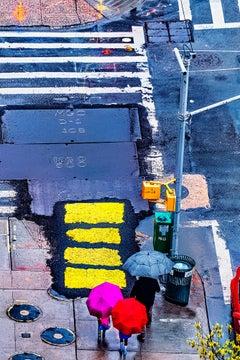 Street Repair becomes Street Art like a Rothko painting