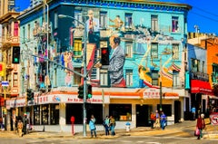 The Jazz Building In North Beach,  San Francisco