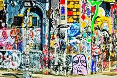 Urban Art , Street Art, Graffiti Wall In Soho, New York City