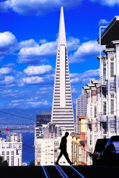 View From Nob Hill Of Transamerica Pyramid,  San Francisco