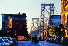 Williamsburg Brooklyn In Golden Light, New York City