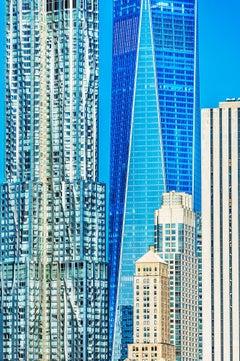 World Trade Center Cerulean blue