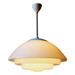 Mithras Ceiling Lamp by August Walther & Söhne, 1930s