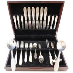 Mitra Matte by Georg Jensen Stainless Steel Flatware Set for 6 Service Estate