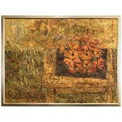 Mitrov Poppies Midcentury Painting