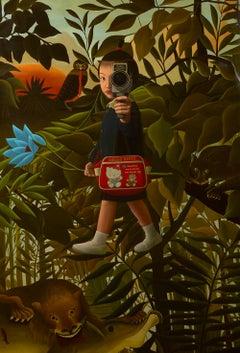 Mitsuru Watanabe, Naoko Walking in Rousseau's Forest