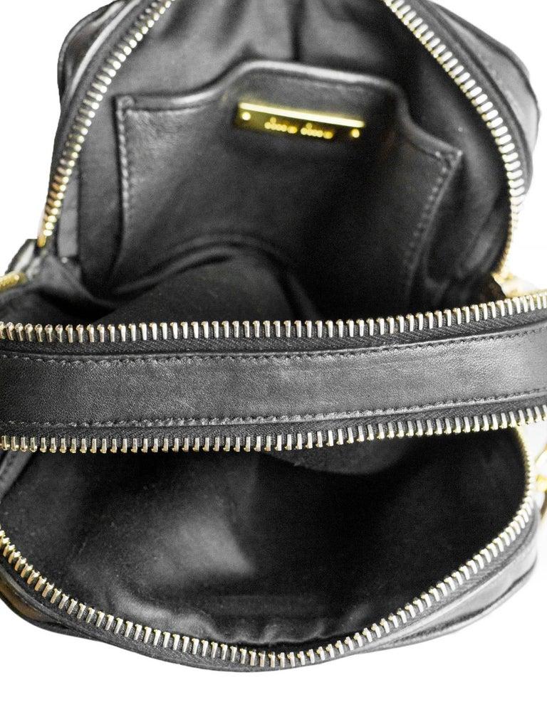 Miu Miu Black Nappa Leather Matelasse Lux Camera Crossbody Bag For Sale 2 4a061c4187a68