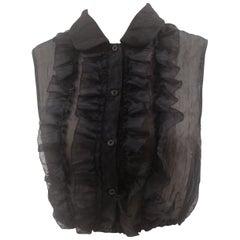Miu Miu black shirt