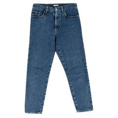 Miu Miu Icons Blue Cotton Brigitte Jeans - Size 27