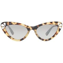 Miu Miu Mint Women Brown Sunglasses MU01VS 551565O0 55-19-148 mm