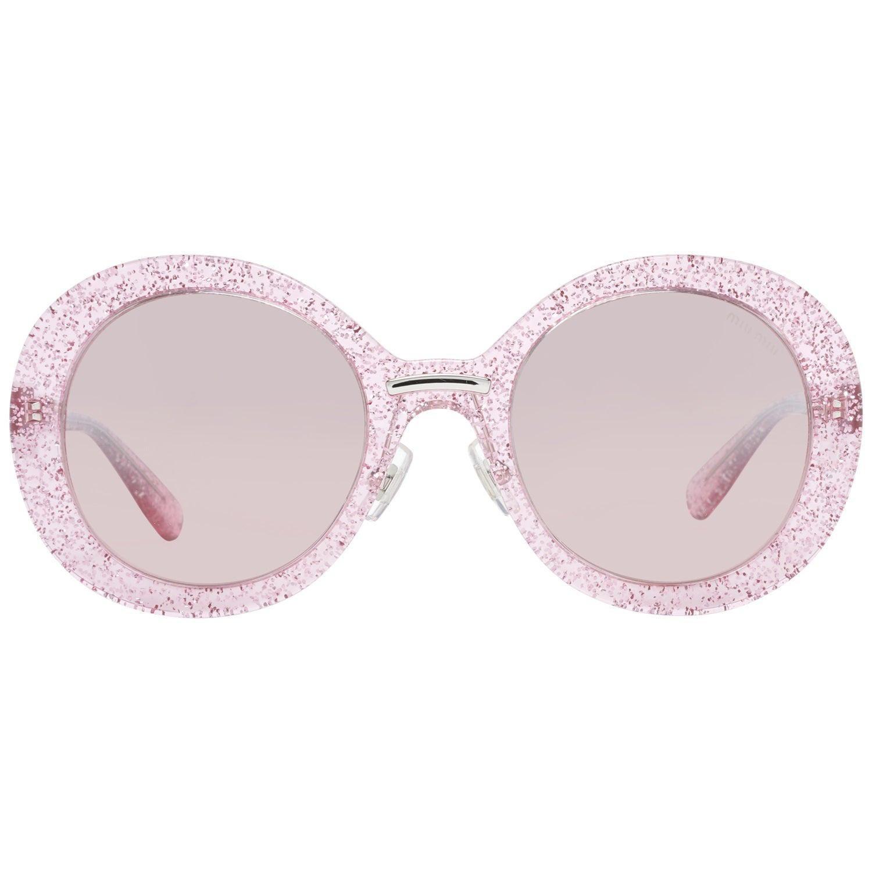 Miu Miu Mint Women Pink Sunglasses MU04VS 531467L1 53-23-140 mm