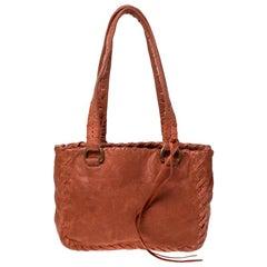 Miu Miu Orange Leather Small Shoulder Bag