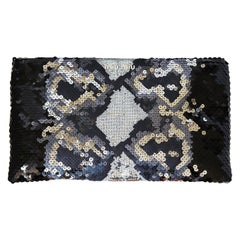 Miu Miu Oversized Sequin-Embellished Clutch