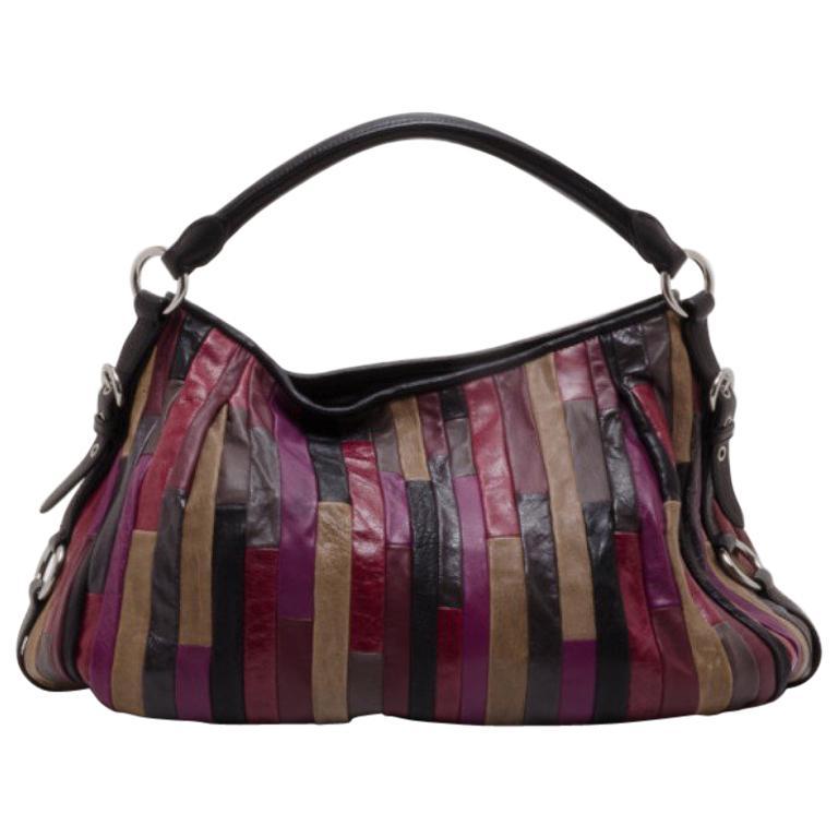f3f275b7f2b1 Miu Miu Patch Nappa Leather Satchel For Sale at 1stdibs