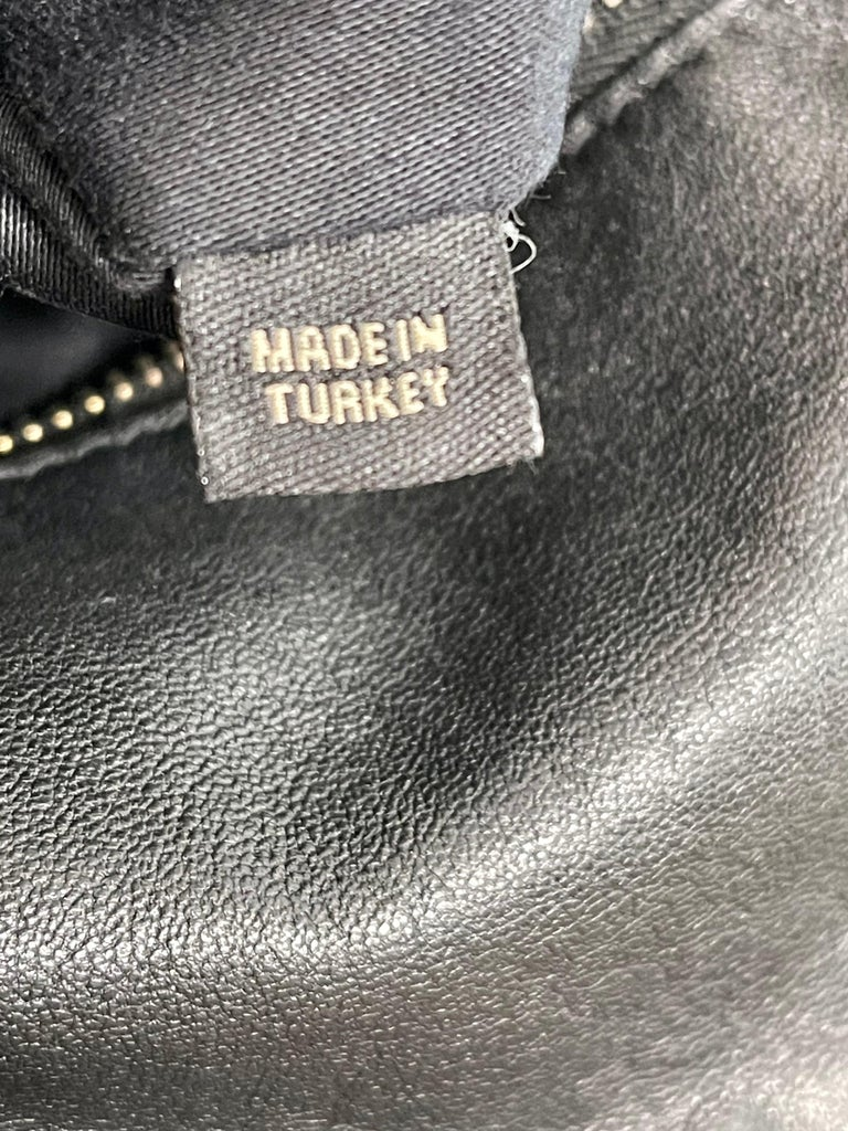 Miu Miu Prada Bow Vitello Lux Medium Calfskin Leather Satchel, Black, Bow bag For Sale 7