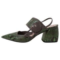 Miu Miu Python Sandal IT 40