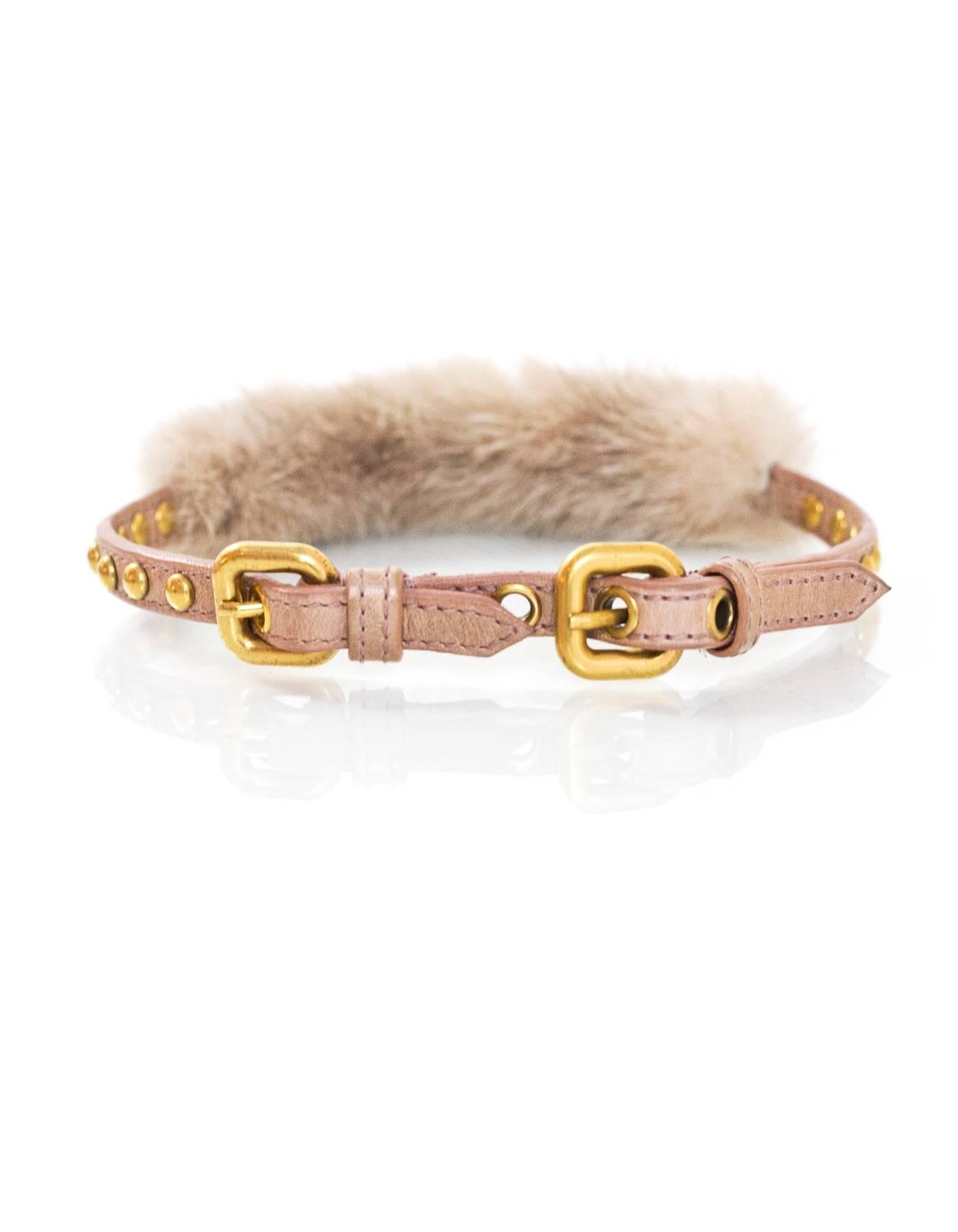 cocco gallery jewelry gold metallic leather miu bracelet st in lyst