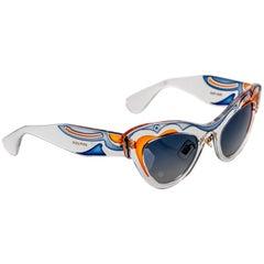 Miu MIu Runway Butterfly Cat Eye Sunglasses, 2014