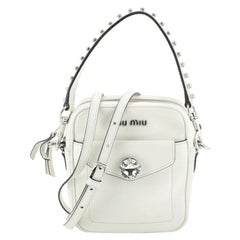Miu Miu Solitaire Camera Bag Leather