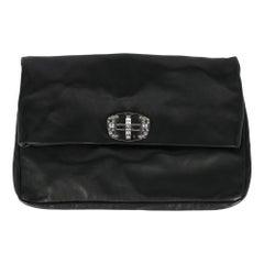 Miu Miu Woman Handbag  Black Leather
