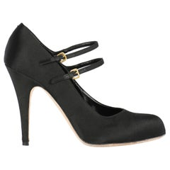 Miu Miu Woman Pumps Black EU 38.5