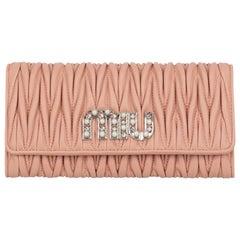 Miu Miu Woman Wallet Pink Leather