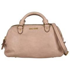 Miu Miu Women  Handbags Pink Leather