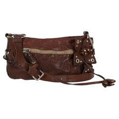 Miu Miu  Women   Shoulder bags   Brown Leather