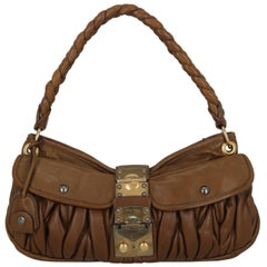 Miu Miu Women  Shoulder bags Coffer Brown Leather