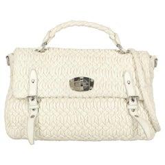 Miu Miu  Women   Shoulder bags  White Leather