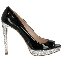 Miu Miu Women's Pumps Black Size IT 41