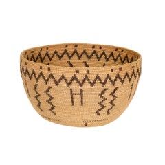 Miwok Woven Bowl