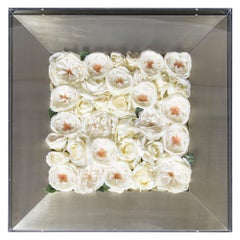 Mix Roses Framework with Case Set Arrangement, Flowers, Italy