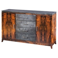 Mixed-Media Credenza