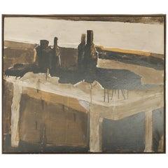 Mixed Media Painting by Ward, 1967