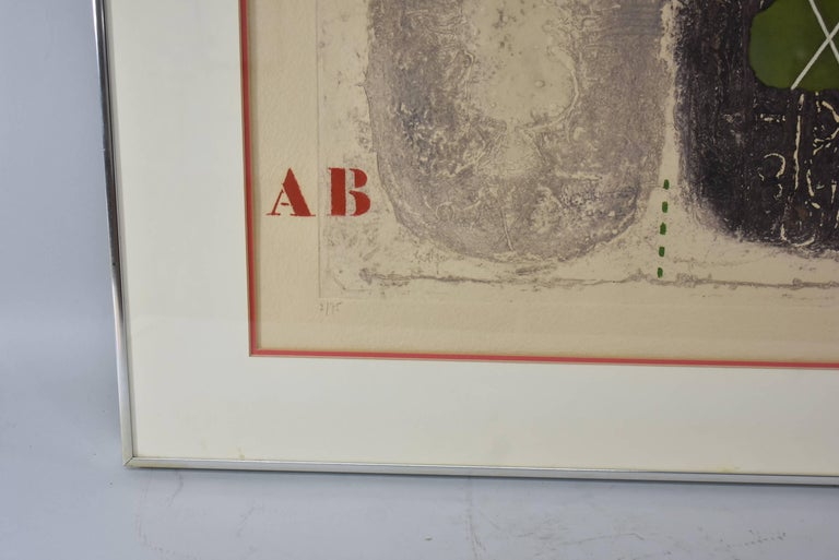 19th Century Mixed-Media Signed and Numbered Carborundum Etching by James Coignard 2/25 For Sale